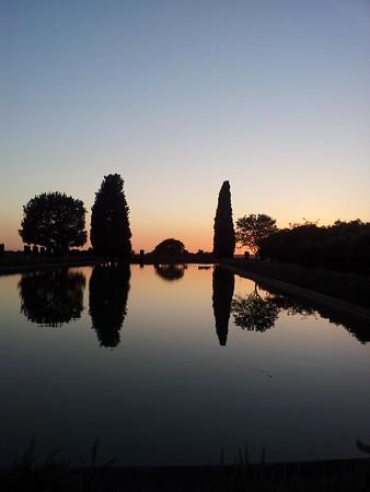 Villa Adriana di sera
