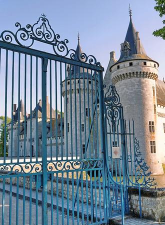 Château de Sully sur Loire - Portail