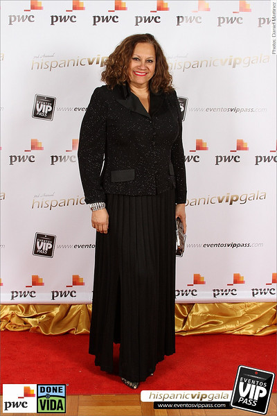 3rd Annual Hispanic VIP Gala - Red Carpet | Mon, Dec 16
