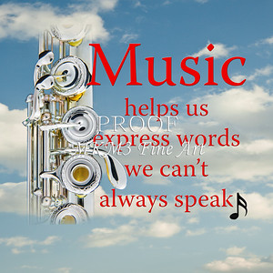 Music Insstrument Flute Posters Wall Art for Musiciams