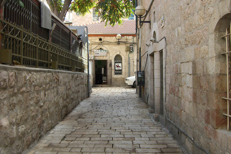 "10-Ma'avar Bet HaKnesset (""passage to the synagogue"") near the Harmony Hotel"