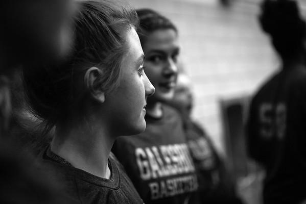 GHS Girls Basketball vs Stillman Valley Jan. 27, 2018