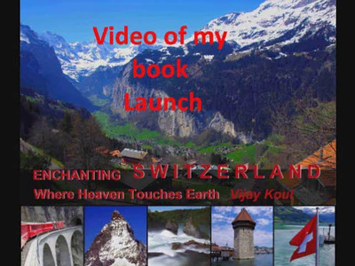 """Enchanting Switzerland"" Book launch video"