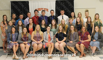 20180502 Sleepy Eye High School Honor Society