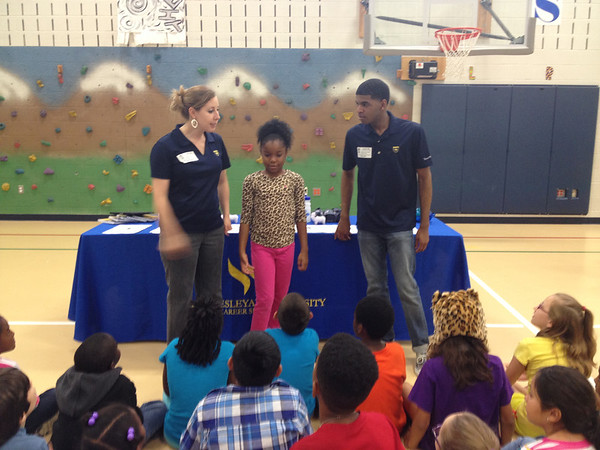 Thelma Jones Elementary 2014 Career Day