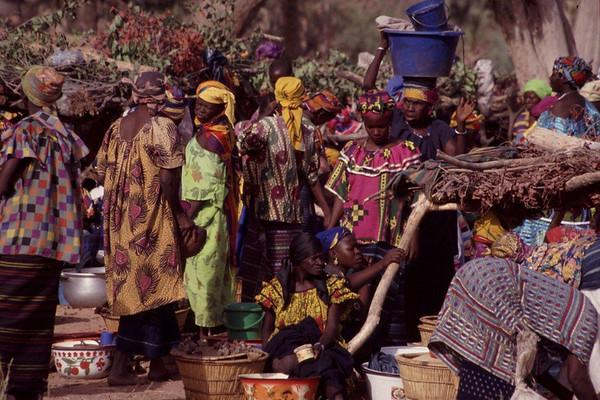 Dogon Country, Mali - Rotating Market 1999