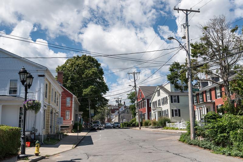 North St. - Plymouth, Massachusetts, USA - August 13, 2015