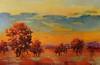 Octobre Rouge-Georgie, 50x32 painting on canvas JPG
