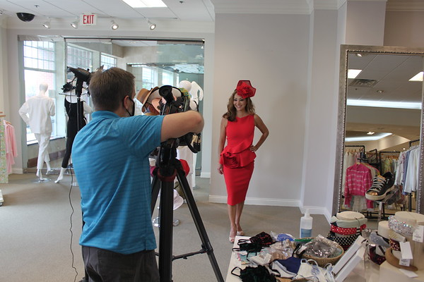 WAVE3 Derby Dress Contest (Behind the Scenes)