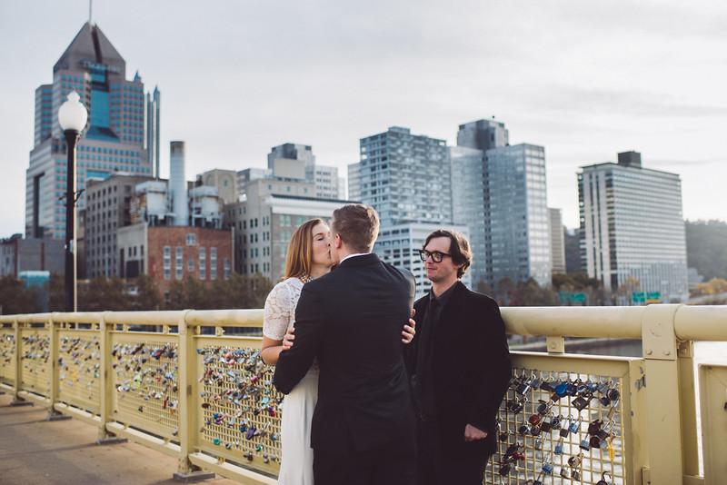 Pittsburgh Elopement Photographer - Monaco Bridge Downtown - Hadley-241.jpg
