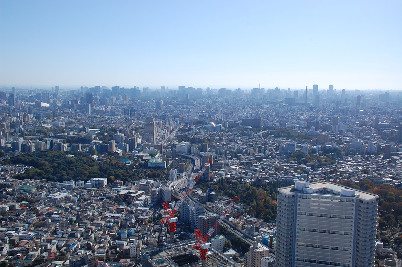 View from Sunshine 60 Tower in Ikebukuro
