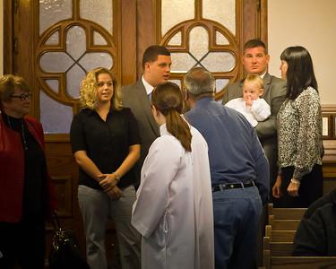 Baptism of Elijah Daniel