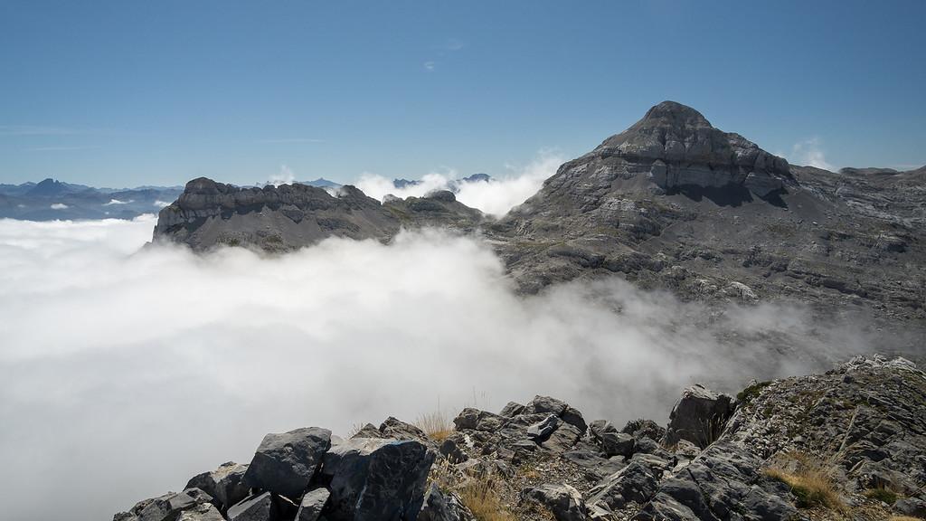Vistas desde cumbre del Soum Couy