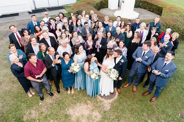 Kristy-leigh & Matthew: Group photos