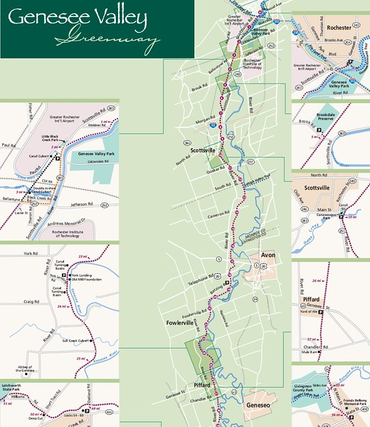 Genesee Valley Greenway State Park (North Section)
