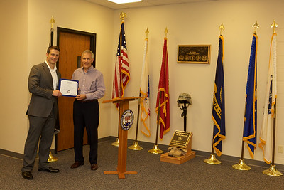 Veterans Center Open  House and Scholarship Presentation