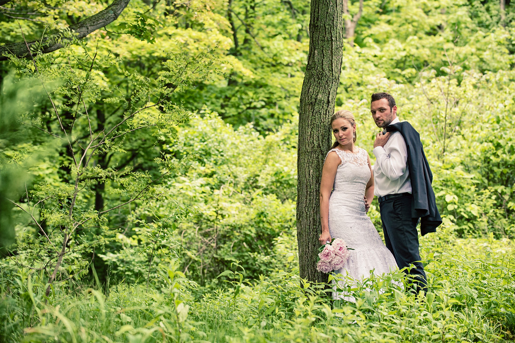 Trash The Dress Forest
