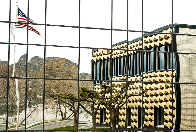 Project Office, Grand Coulee Dam, Washington, 2000