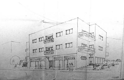 Spiegel House, Haifa - 1937