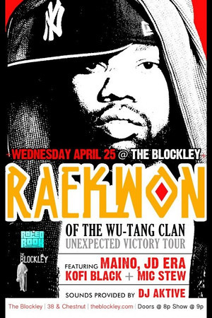Veteran Freshmen presents Raekwon