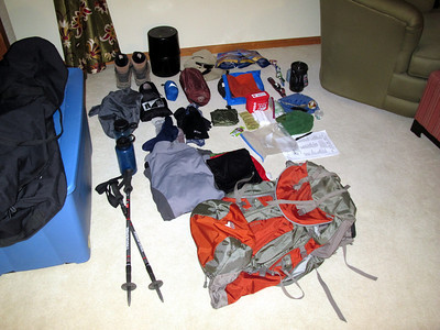 Mt Whitney trek - July 3, 4, 5 2012