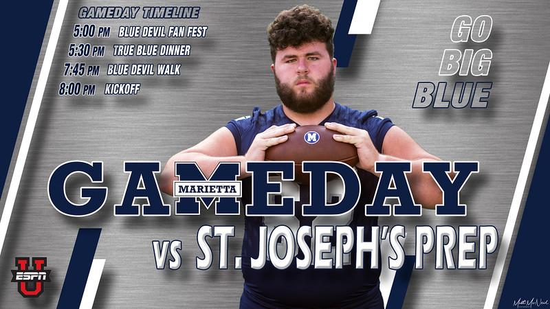 Game 2 - St Joseph's Prep