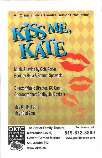 Spring 2008 - Kiss Me, Kate