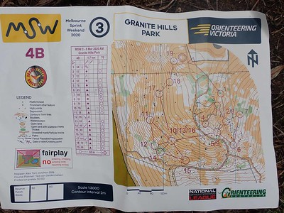 8 March 2020 MSW event 3  Granite Hills