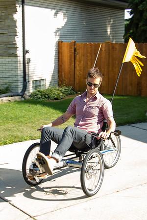 Trikes not bikes