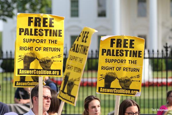 Emergency Vigil for Gaza @ White House  5/14/18