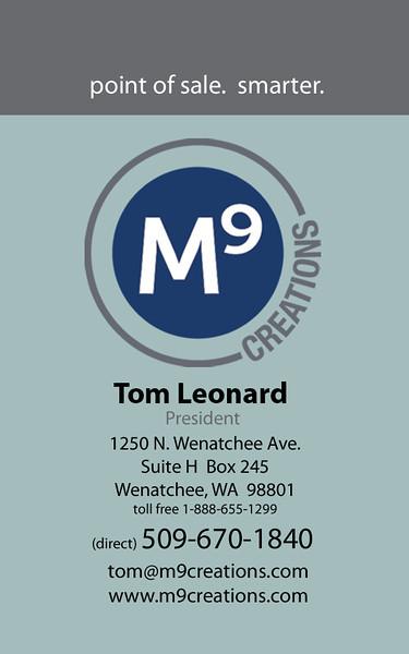 M9 biz cards
