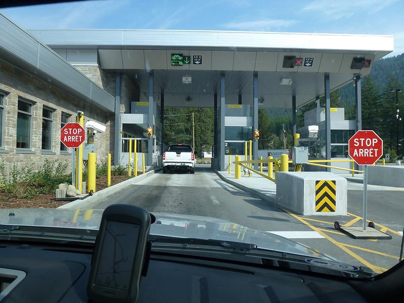 The border port into Canada.