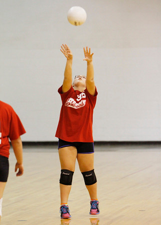 SNMS Volleyball vs Hanover Central 2012
