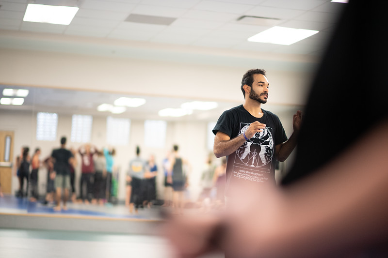 Contemporary Floorwork                              Joel Rivera Combining modern floor-work with b-boying floor-work, this class will develop movement invention, physical training, and aesthetic exploration to provide dancers with tools needed for growth, evolution, and expansion of movement vocabulary