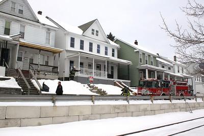 Small Fire, 308-310 Pleasant Row, Tamaqua (1-25-2011)
