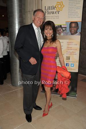 Helmut Huber, Susan Lucci   photo  by Rob Rich © 2014 robwayne1@aol.com 516-676-3939
