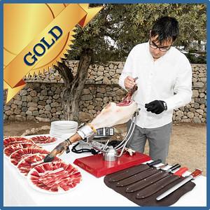 40304 Spanish ham cut by maestro cortador Gold