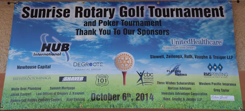 Rotary Golf Fundraiser