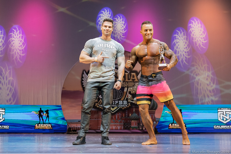 Men's Physique Novice Overall