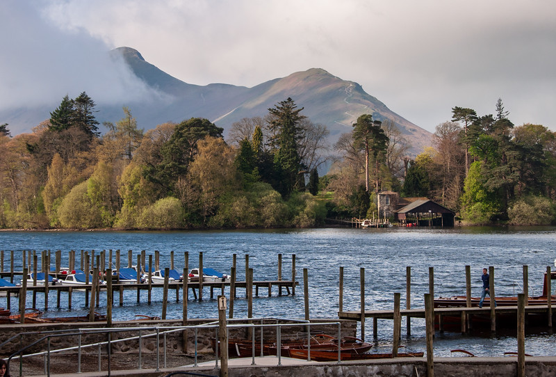 Keswick Launch in the Lake District