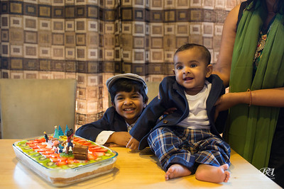 4th Birthday at Home