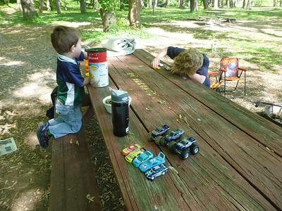 2012 - 04 - Potomac Camping