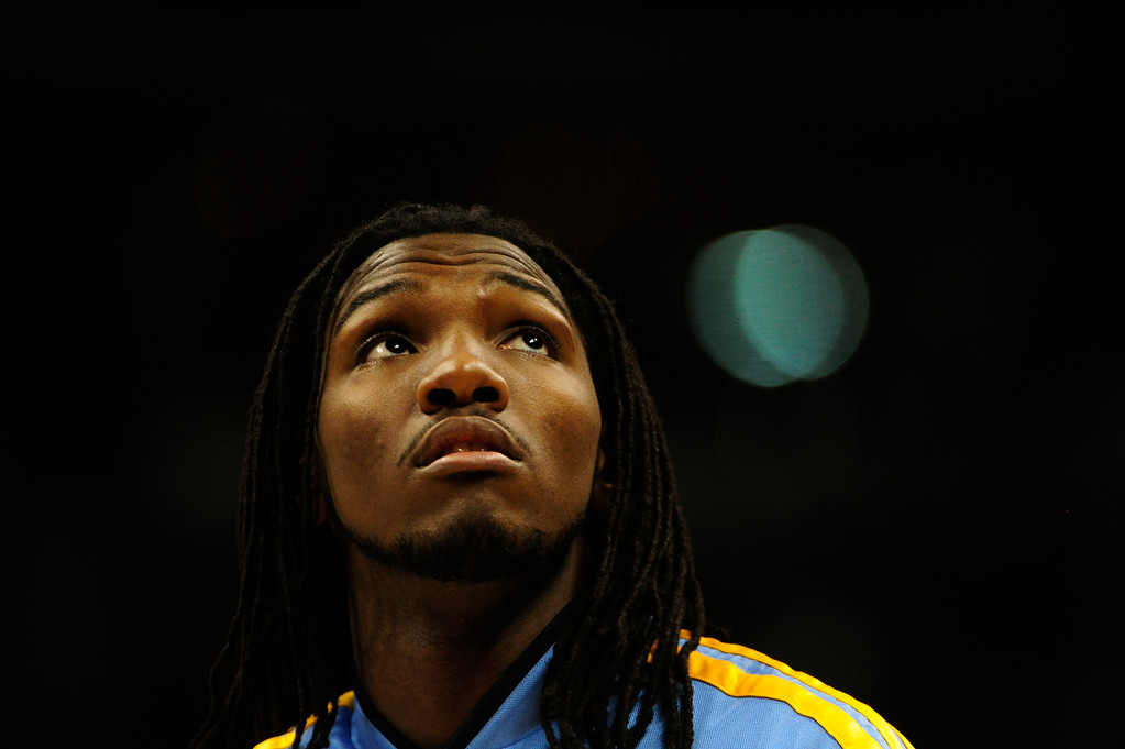 . Denver Nuggets small forward Kenneth Faried (35) during the first half at the Pepsi Center on Wednesday, December 26, 2012. AAron Ontiveroz, The Denver Post