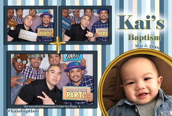 Kai's Baptism