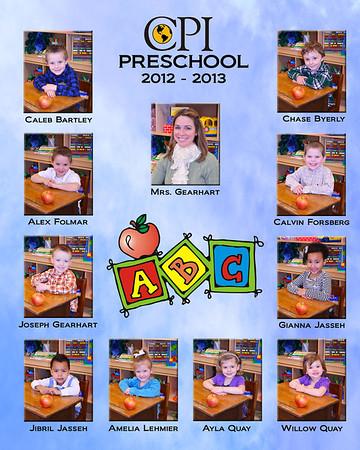 CPI Preschool 2012-2013