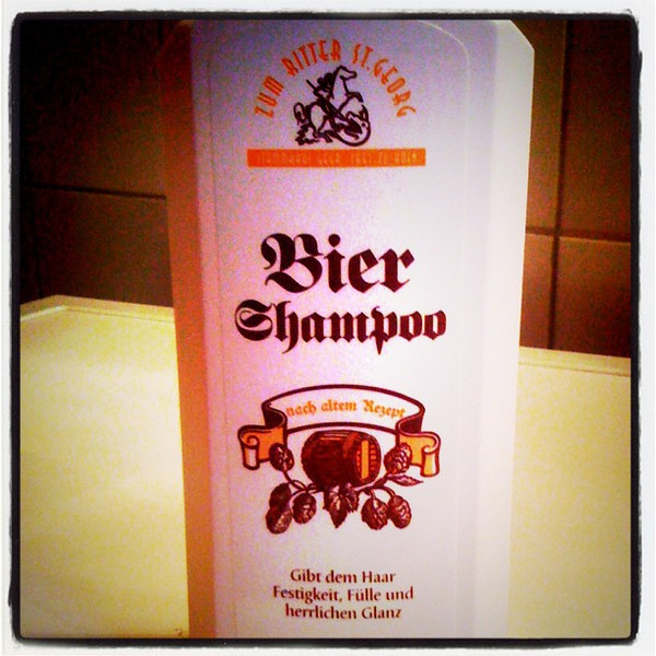 Beer shampoo? #berlin