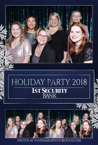 1st Security Bank Holiday Party 2018