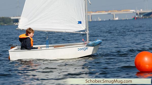 RZV Naarden Sailing practice 2015-08-30