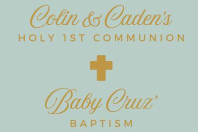 Communion & Baptism (prints)