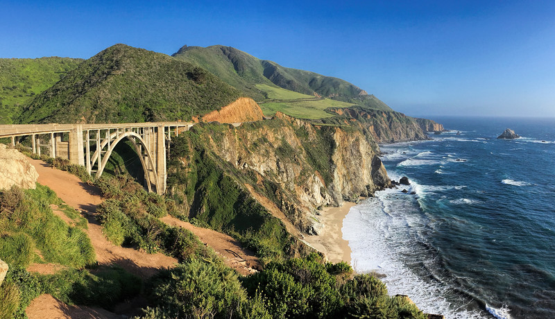 Quick stop at the Bixby Bridge